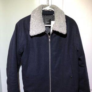 Theory Wool Bomber Jacket